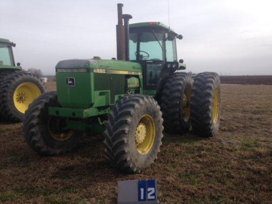 JOHN DEERE 4850 TRACTOR, RW4850P002916