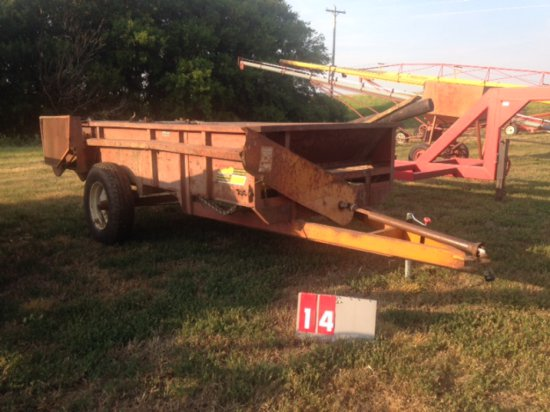 KELLY RYAN 6 X 8 MANURE SPREADER