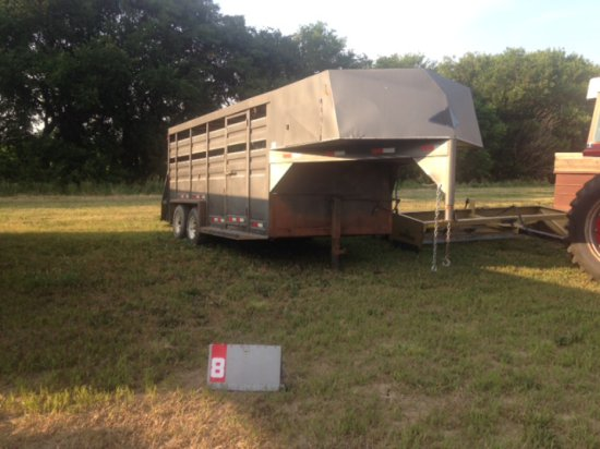 COLERIDGE WELDING 16 FT LIVESTOCK TRAILER
