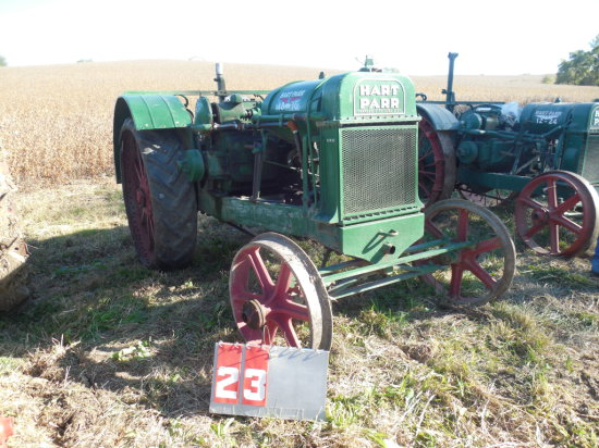 HART PARR 18-36, 87782, OLDER RESTORATION