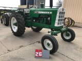 OLIVER 1650, 151842, OVER/UNDER HYDRAULIC SHIFT, WIDE FRONT, 3 PT, RESTORED