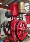 LARGE RARE GAS ENGINE AUCTION