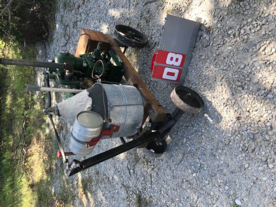 CUSHMAN, 8 HP, TWIN