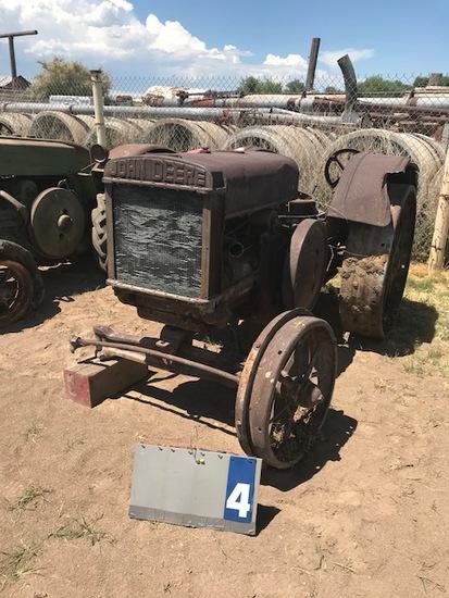 JOHN DEERE D, 95054, WITH PTO, 1929, HASN'T RUN SINCE 2012