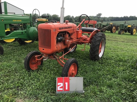 ALLIS CHALMERS B, 101280, RESTORED, RUNS
