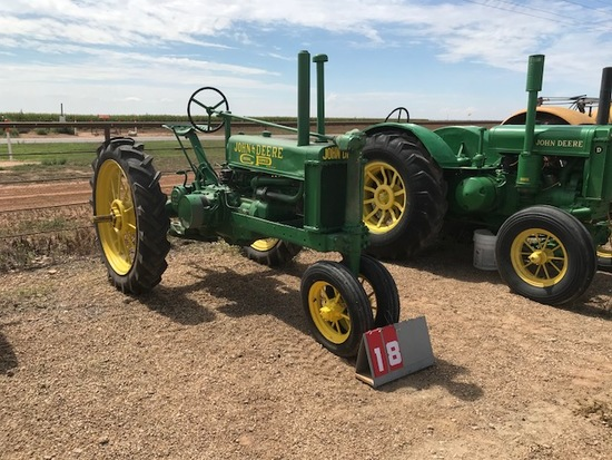 JOHN DEERE B, 6736, 1935, BRASS TAG, RESTORED