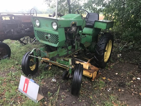 SHOP BUILT TRACTOR WITH MOWER DECK