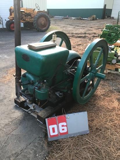 FAIRBANKS MORSE 10 HP GAS ENGINE, 1923, 350 RPM, 430438