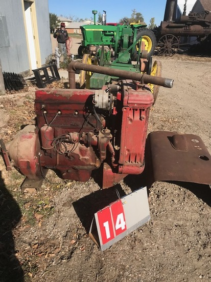 MCCORMICK DEERING W-9 POWER UNIT