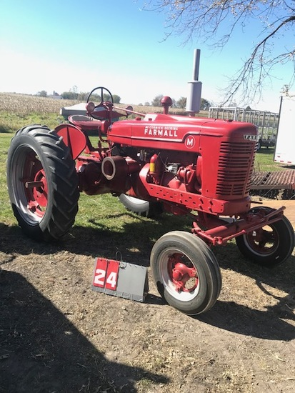 FARMALL M, 1939, 4061, ALL FUEL, NICE ORIGINAL, RUNS