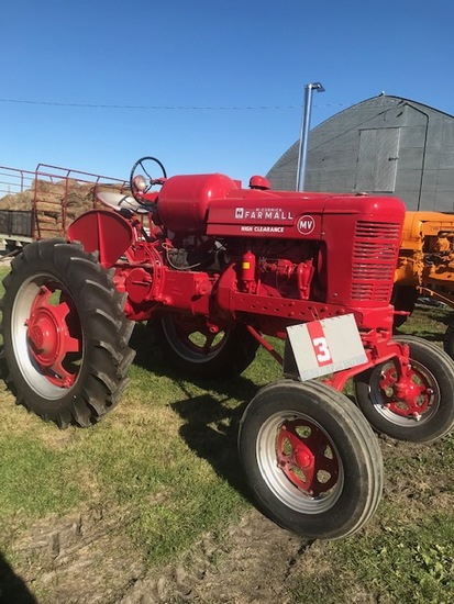FARMALL MV, LP, NEW RUBBER, RESTORED, RUNS