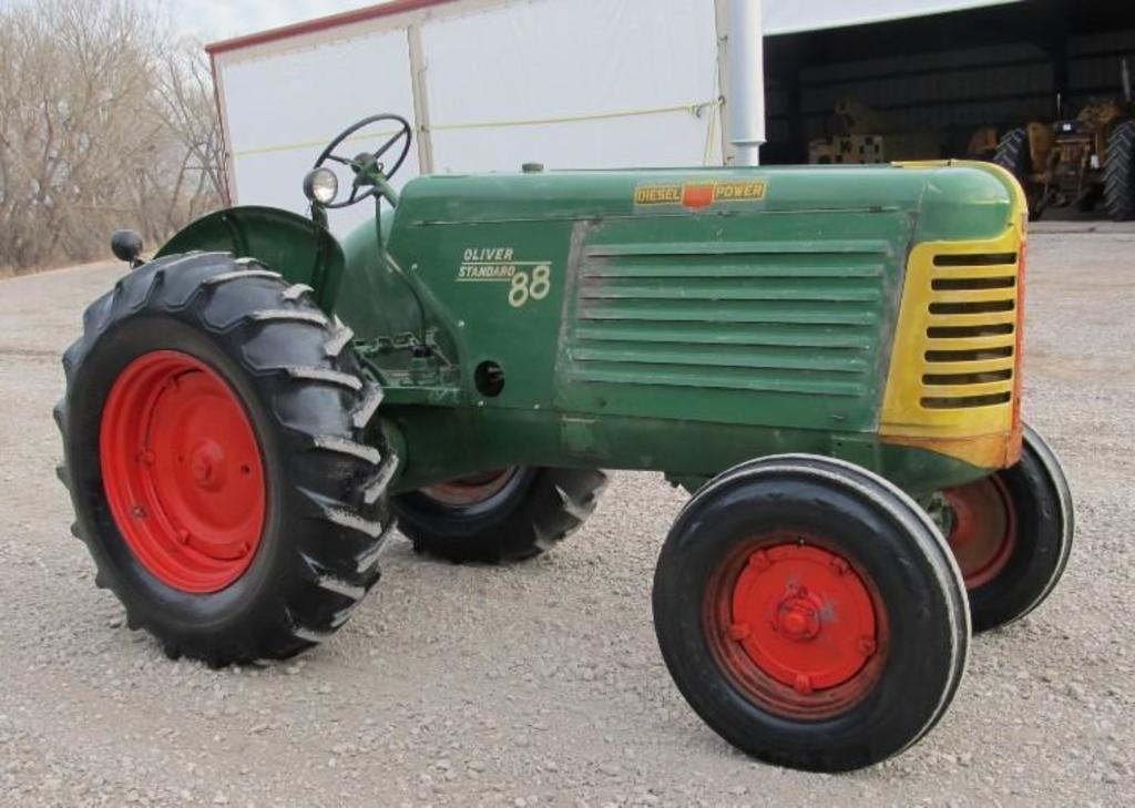 1954 Oliver 88 Diesel