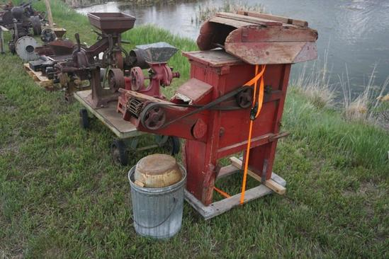 Wooden Corn Sheller
