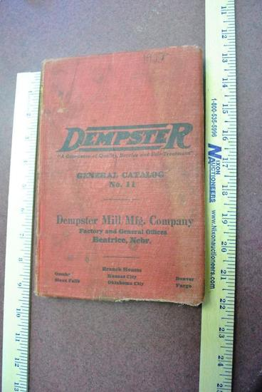 1922 Dempster General Catalog No. 11