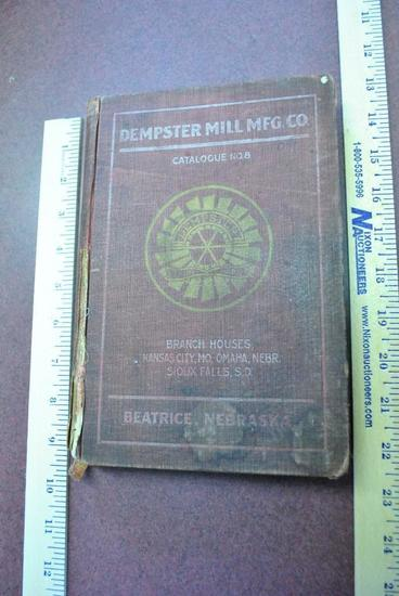 1909 Dempster General Catalog No 8