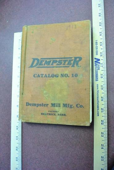 1917 Dempster General Catalog No. 10