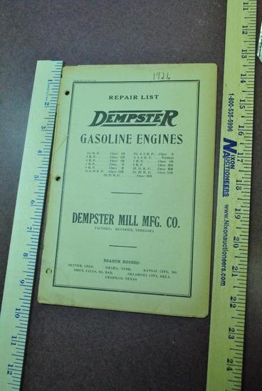 1926 Dempster Catalog