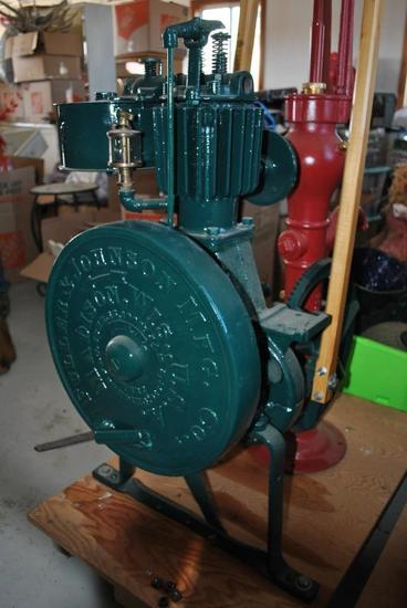 Fuller and Johnson Pump Engine