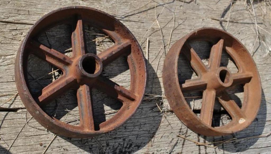 Butcher Block Cart Wheels