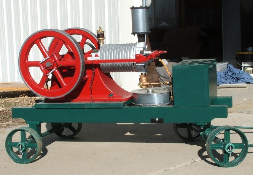 Gilson - 2nd earliest know Gilson engine