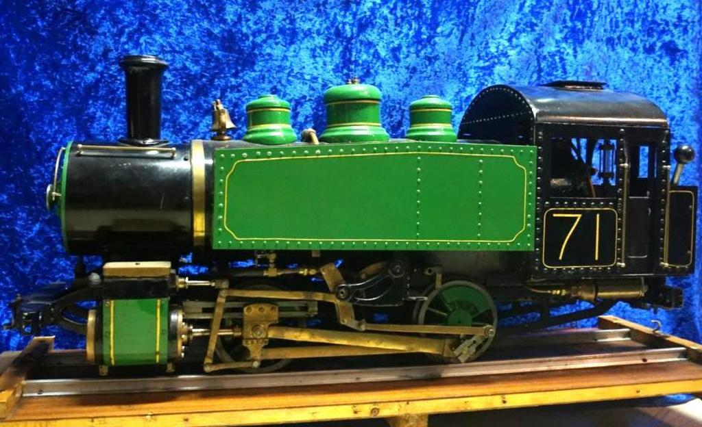 Live Steam Locomotive