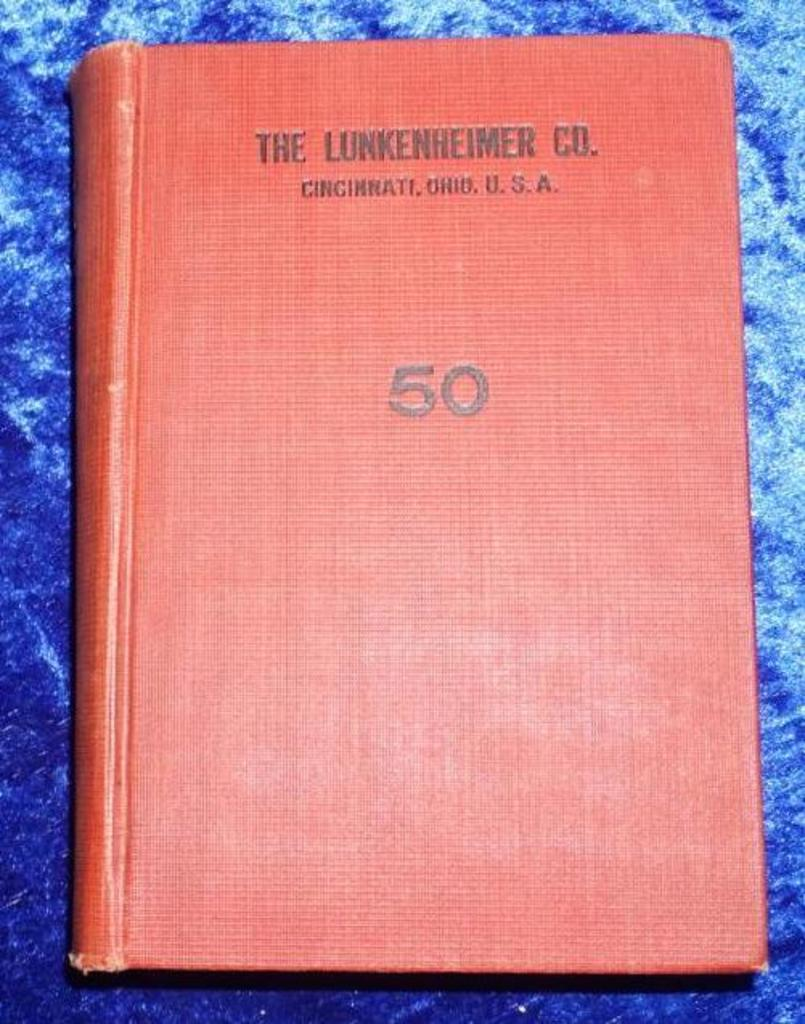 Lunkenheimer Co Illustrated Catalogue and Price List