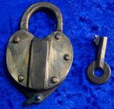 JHW Climax Brass Lock