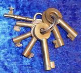 Assorted Brass Keys