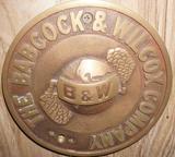 The Babcock & Wilcox Co. Plaque