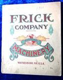 1910 Frick Company Catalog