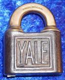 Yale Brass Lock