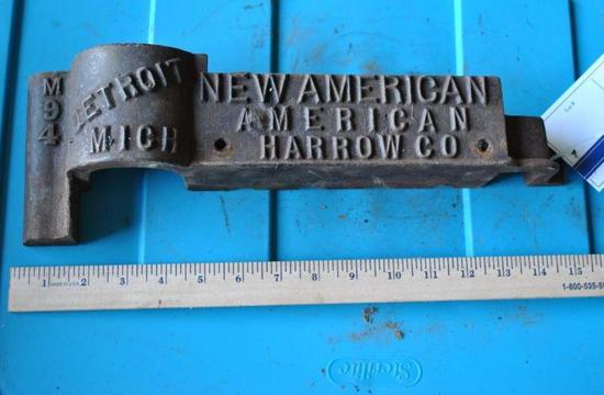 New American Harrow Co. Cast Tractor Box