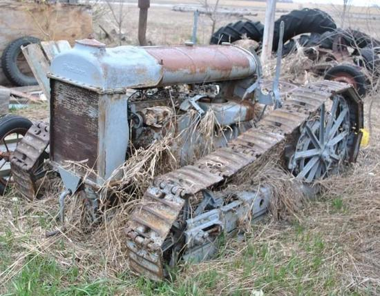 Fordson Tractor with Track Conversion