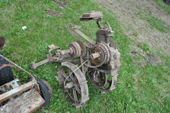 Shaw(?) Garden Tractor