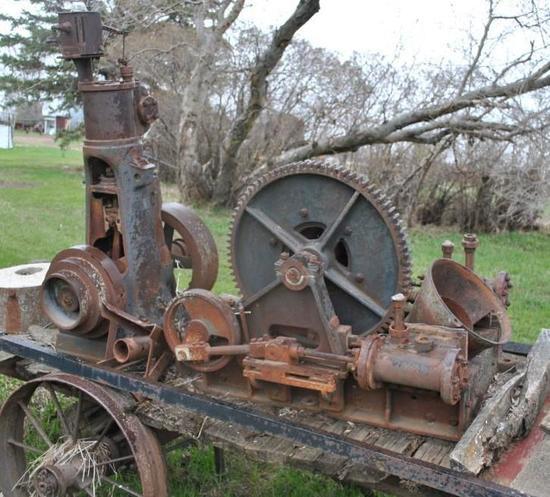 Stationary Steam Winch Engine
