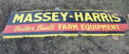 Massey-Harris Porcelain Sign