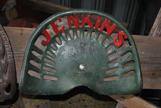jenkins cast iorn seat