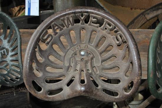 Sawyers seat