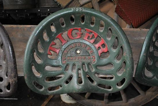 Tiger Stoddard MFG co seat