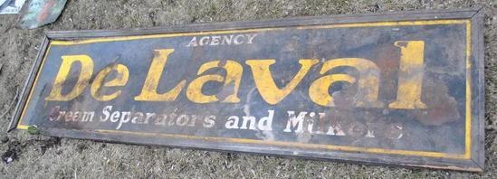 Large De Laval Sign