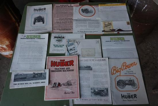Huber Manufacturing Company Advertisments