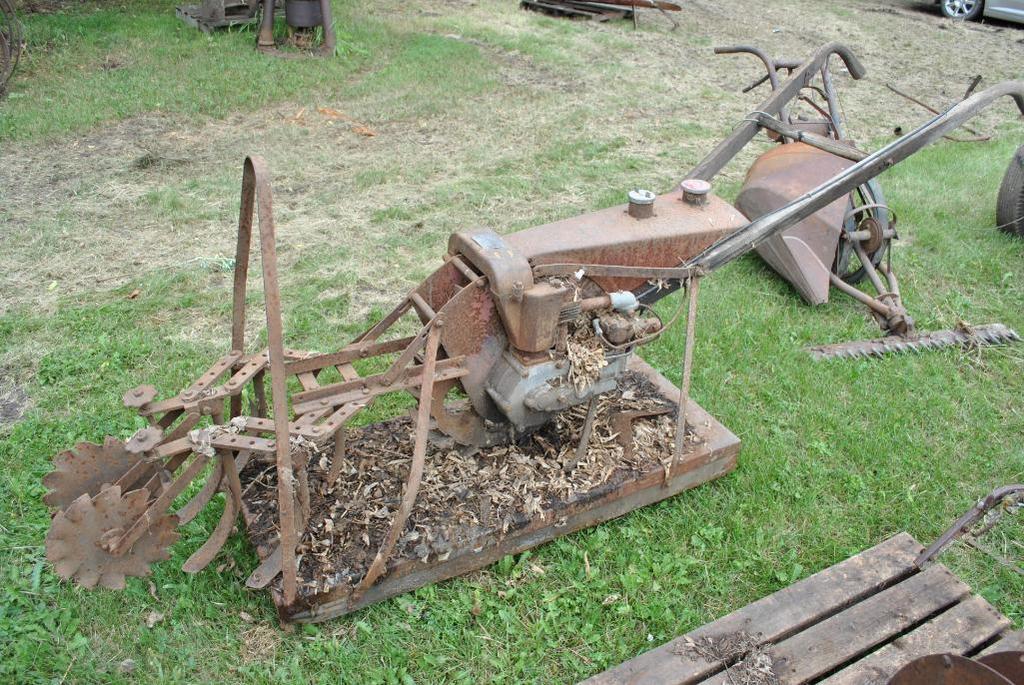 Gravely Motor Plow Garden Tractor