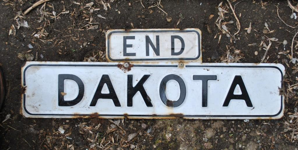 Dakota Sign