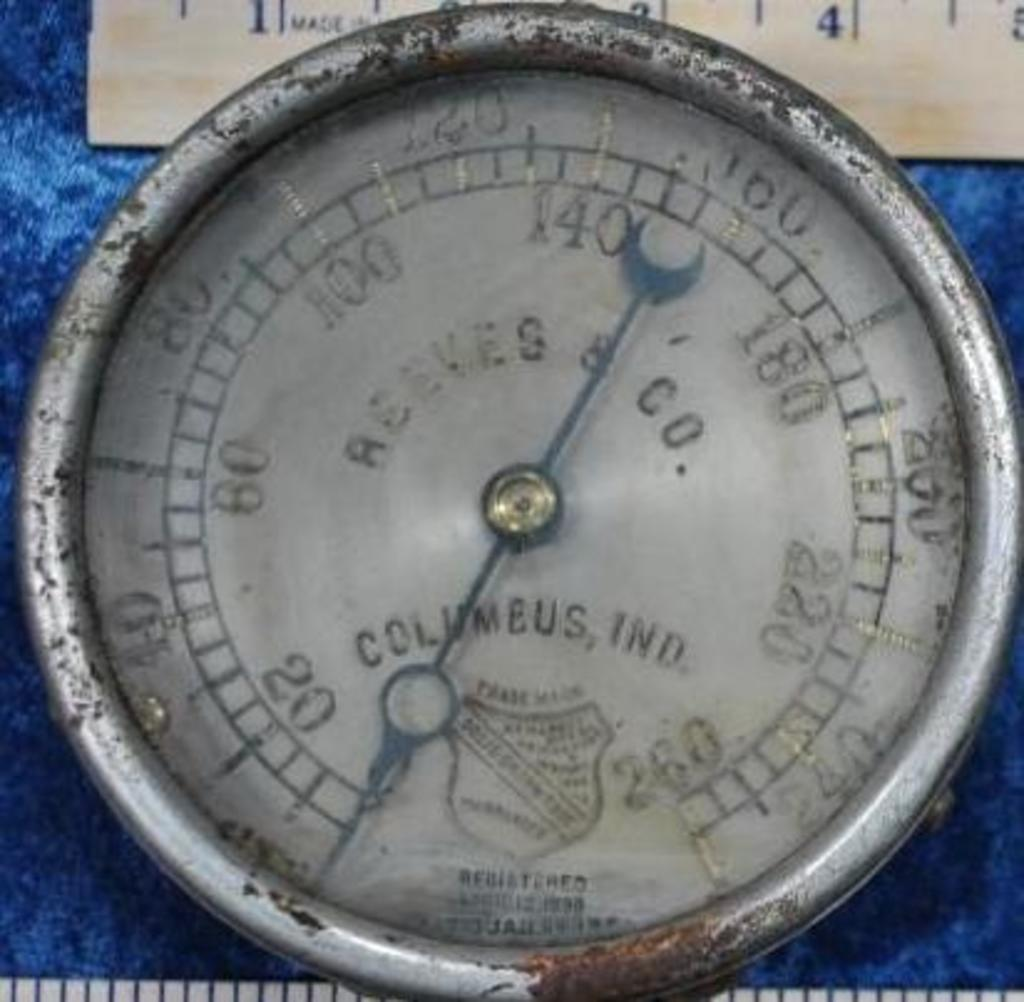Reeves Steam Gauge