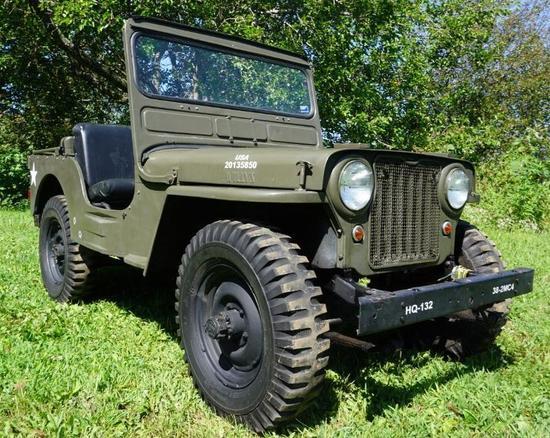 1945 Willy's CJ-2A Jeep