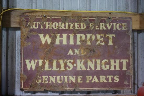 Whippet and Willys-Knight Original Double Sided