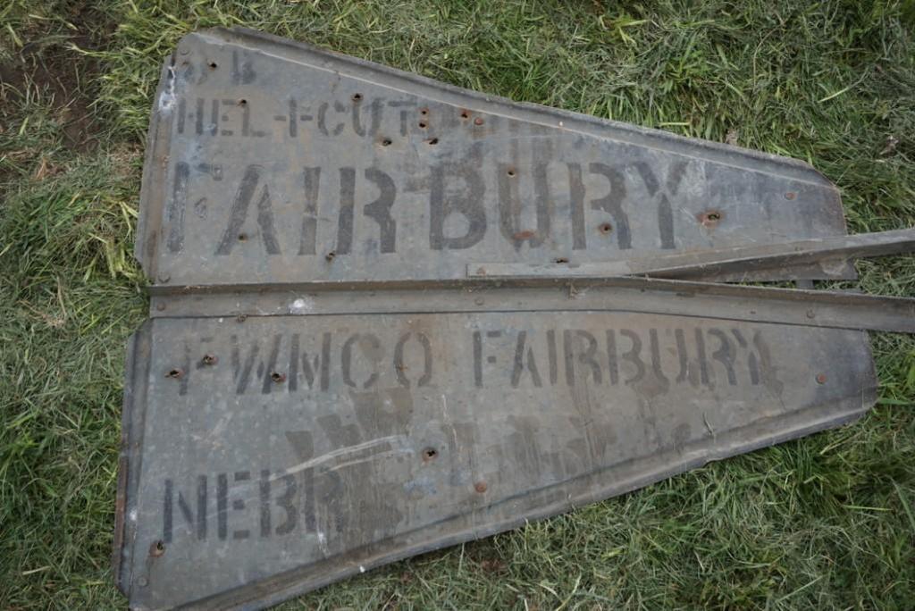 Fairbury Windmill Tail