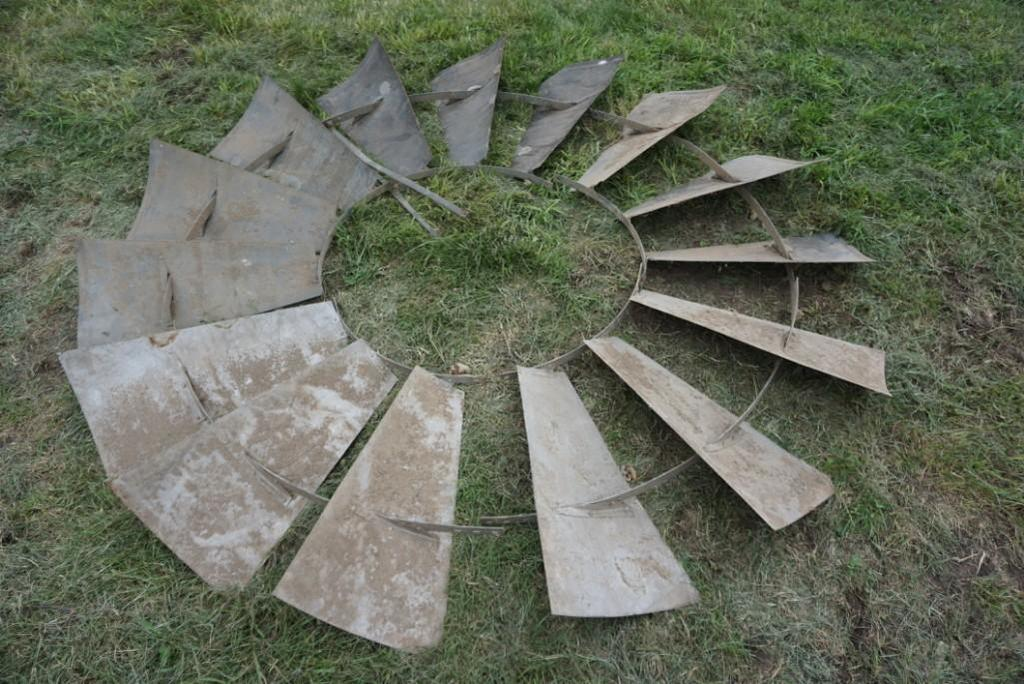 Full Windmill from Assorted Blades