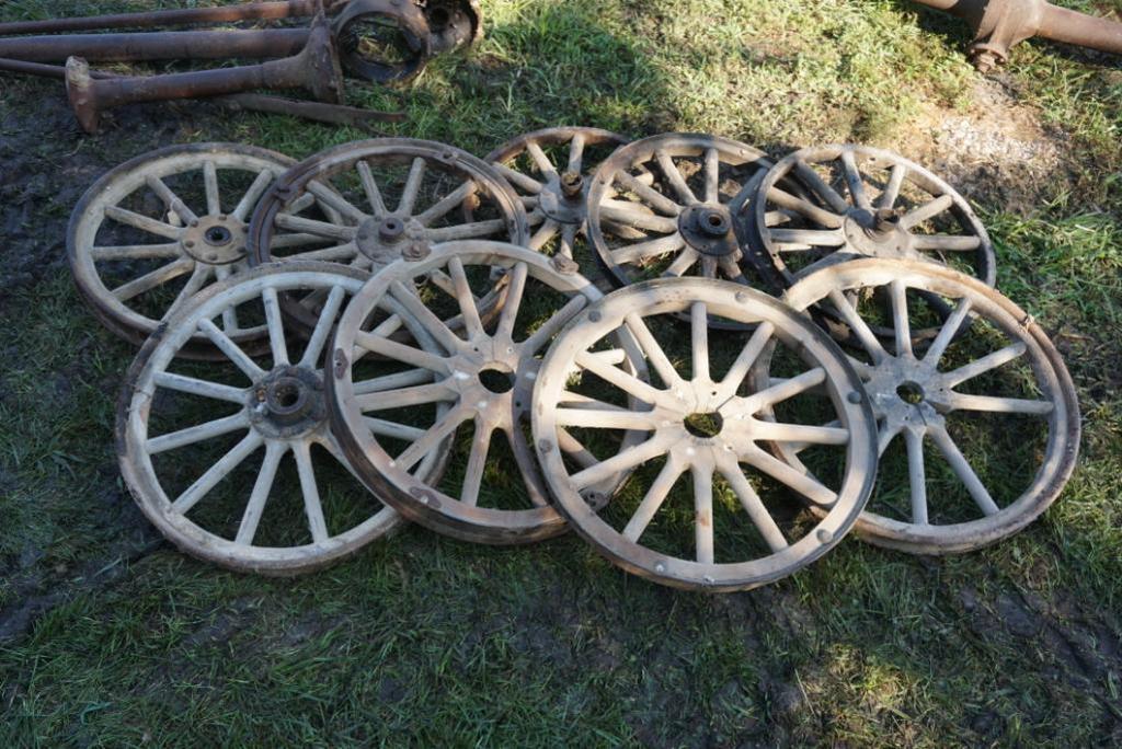 Wooden Spoke Wheels