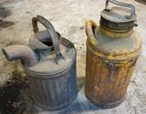 Assorted Oil Cans